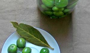 Olives en bocal à la saumure