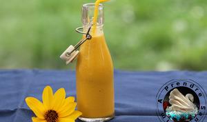 Soupe vitaminée à l'orange et aux carottes