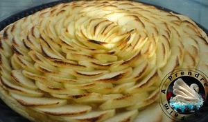 Tarte aux pommes d'Arnaud Delmontel
