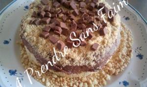 Gâteau à la glace vanille croustillant