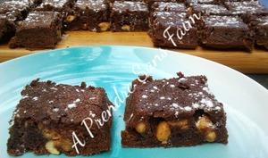 Brownies cacahuètes pépites de Reese's