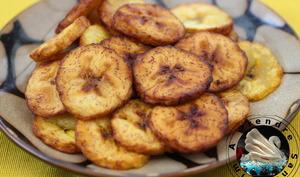 Chips de bananes plantain