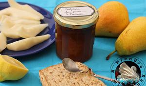 Confiture de poires à l'ancienne