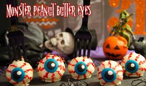 Monster peanut butter eyes