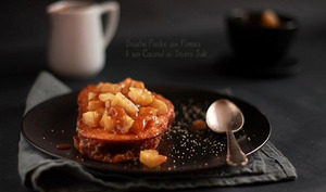 Brioche Perdue aux Pommes et son Caramel au Beurre Salé