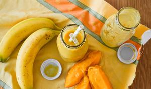 Nectar banane, mangue et orange