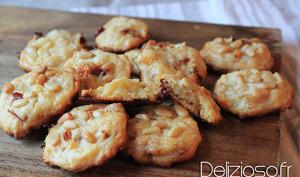 Cookies salés au camembert et tomates séchées