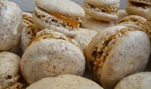 Macarons sésame caramel beurre salé