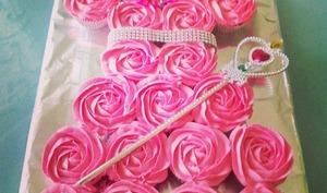 Cupcake princesse