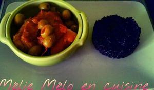 sauté de porc aux olives et chorizo
