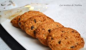 Cookies croquants au chocolat noir et noisettes