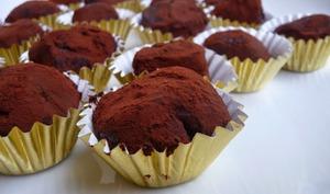 Truffes au chocolat vegan sans crème ni beurre