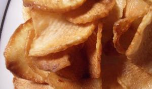 Chips de topinambour