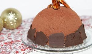 Bombe glacée au chocolat
