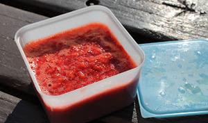 Coulis/Confiture de fraises