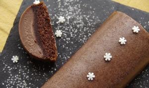 Gâteau magique chocolat, orange et cannelle