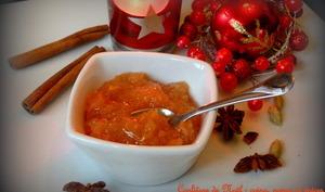 Confiture de coing, poires et épices
