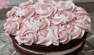 Mud Cake Chocolat et Framboise