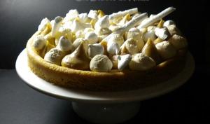 Sablé breton, crémeux au praliné et chantilly au caramel beurre salé, façon Fantastik