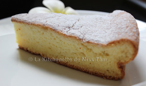 Gâteau moelleux à la vanille