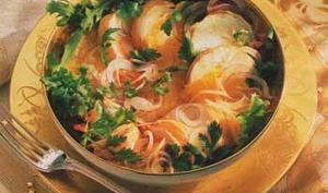Salade de langouste à la thaïlandaise