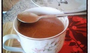 Mon chocolat chaud aux trois chocolats