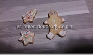 Biscuits décorés de Noël