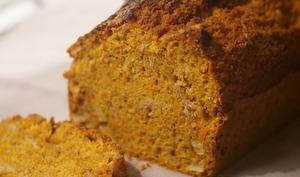 Cake au potimarron, épices et amandes