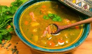 Soupe aux Lentilles Vertes à Ma Façon
