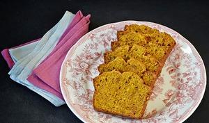 Cake potimarron / amaretti / orange