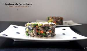 Tartare de sardines