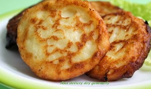 Blinis de pommes de terre