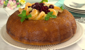 Savarin a l'orange