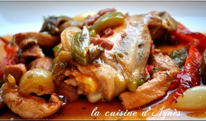 poulet chilindron
