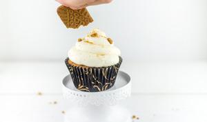 Cupcake spéculoos caramel au beurre salé