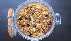 Granola au potimarron et noix de pécan