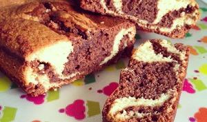 Marbré sans beurre Chocolat Vanille
