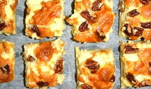 Gâteau magique Noix de pécan & caramel beurre salé