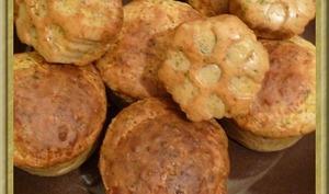 Muffins Bacon et Comté