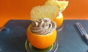 Mousse chocolat orange