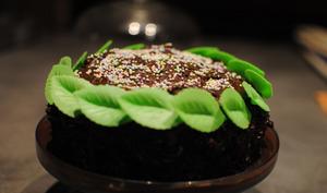 Layer cake chocolat praliné