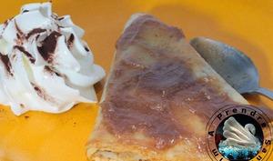 Crêpes à la crème de marrons fait maison