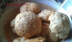 Biscuits moelleux au miel et aux pommes sans œufs sans beurre