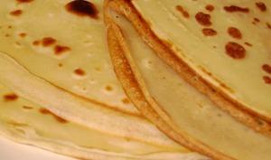 Pâte à crêpe classique, pour faire des crêpes salées et sucrées