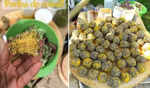 Perles de lentilles corail sans gluten