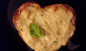 Pomme de terre farcie pour la Saint-Valentin