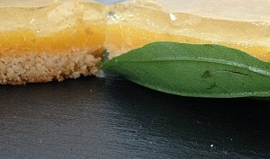 Exquis Citron Vert en Gelée de Basilic