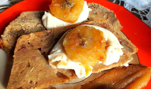 Banana Bread et son Glaçage Mascarpone
