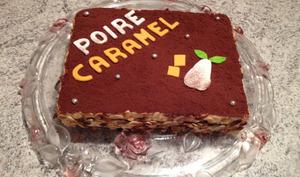 Gâteau Poire-Caramel