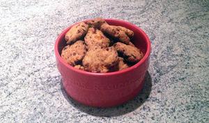 Cookies apéritifs au chorizo, poivron, parmesan